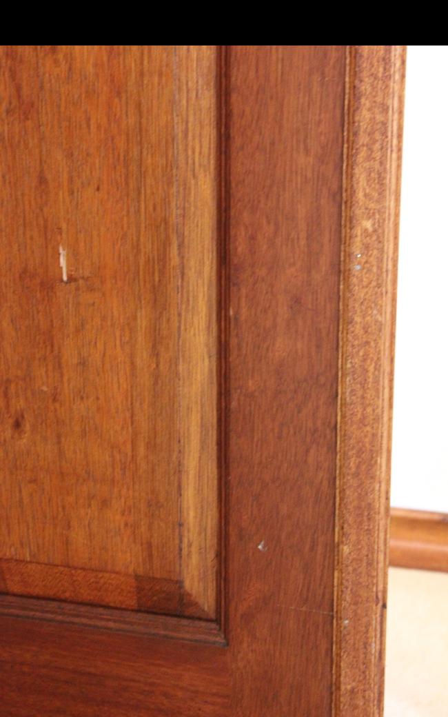 Mark on TV room side of OP bedroom door