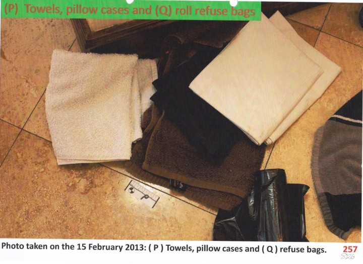 towels and plastic bags 2