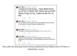 Jenna tweets