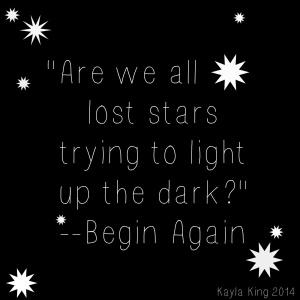 begin again quote