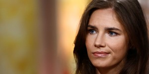 TODAY -- Pictured: Amanda Knox appears on NBC News'