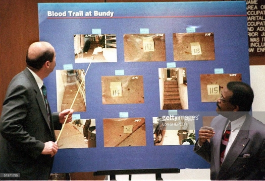 blood trail at bundy