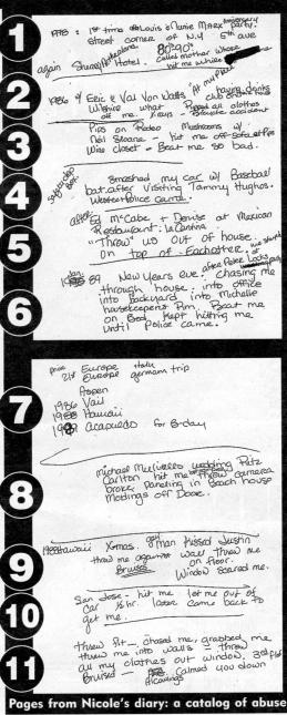 Nicole diary page