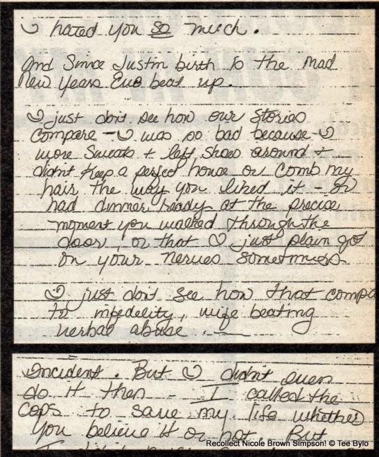Nicole letter