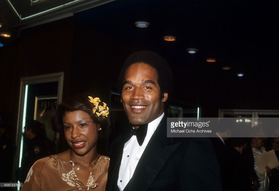 OJ and Marguerite getty