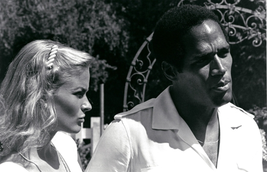 O.J. Simpson and Nicole Simpson