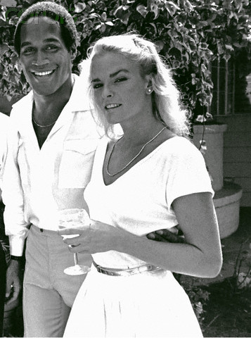 O.J. Simpson and Nicole Simpson