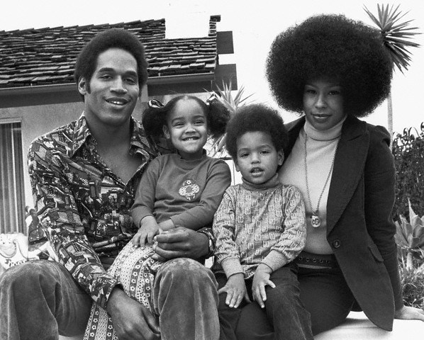 O.J. Simpson and Family