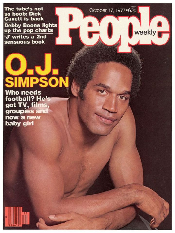OJ simpson People Mag
