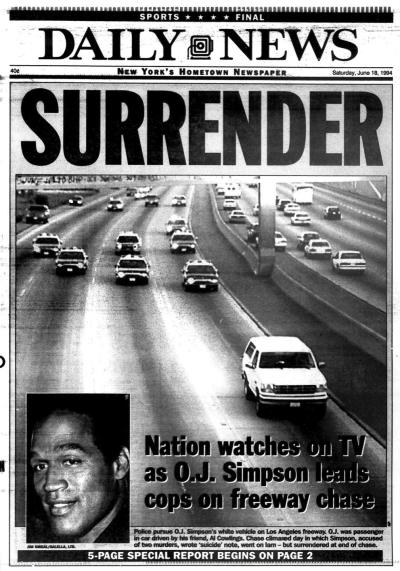 OJ surrender